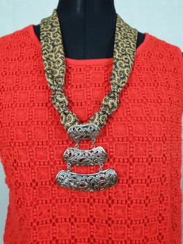 Batik Necklace 7