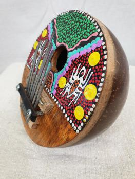 Coconut Shell Music Instrument