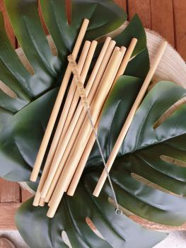 Bamboo Straws in Set