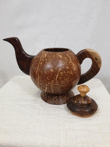 Coconut Shell Teapot
