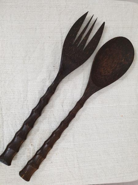 Serving Spoon and Fork
